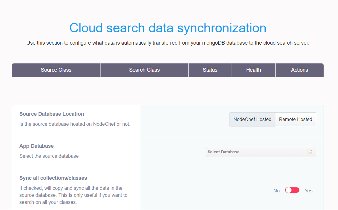 Deploy Cloud Search