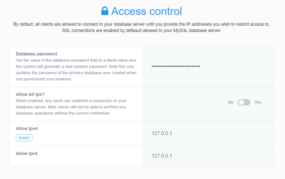 Mysql Server Security Settings Overview Database Access Control And